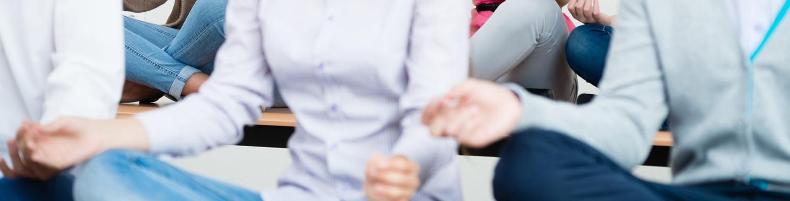 社員のレジリエンスを高める企業研修、マインドフルネス講習のページです。